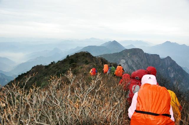 (3月15日)重装穿越最美山脊线北雁荡